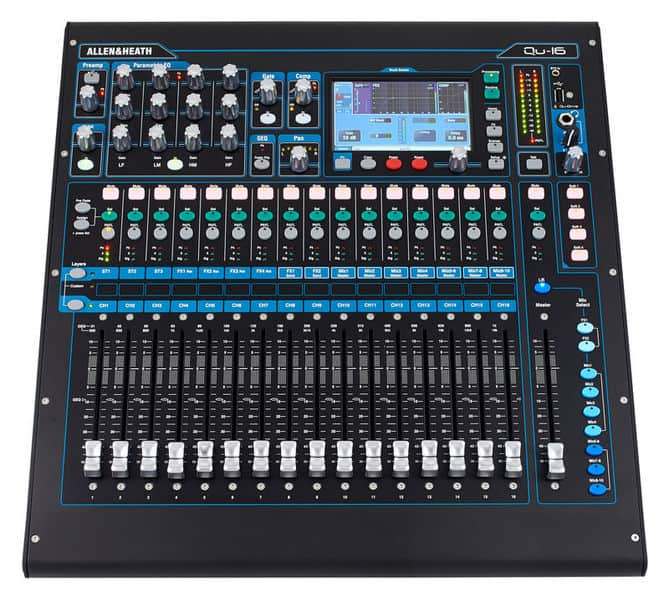 Allen&Heath QU-16 kompakt Mischpult | around GmbH