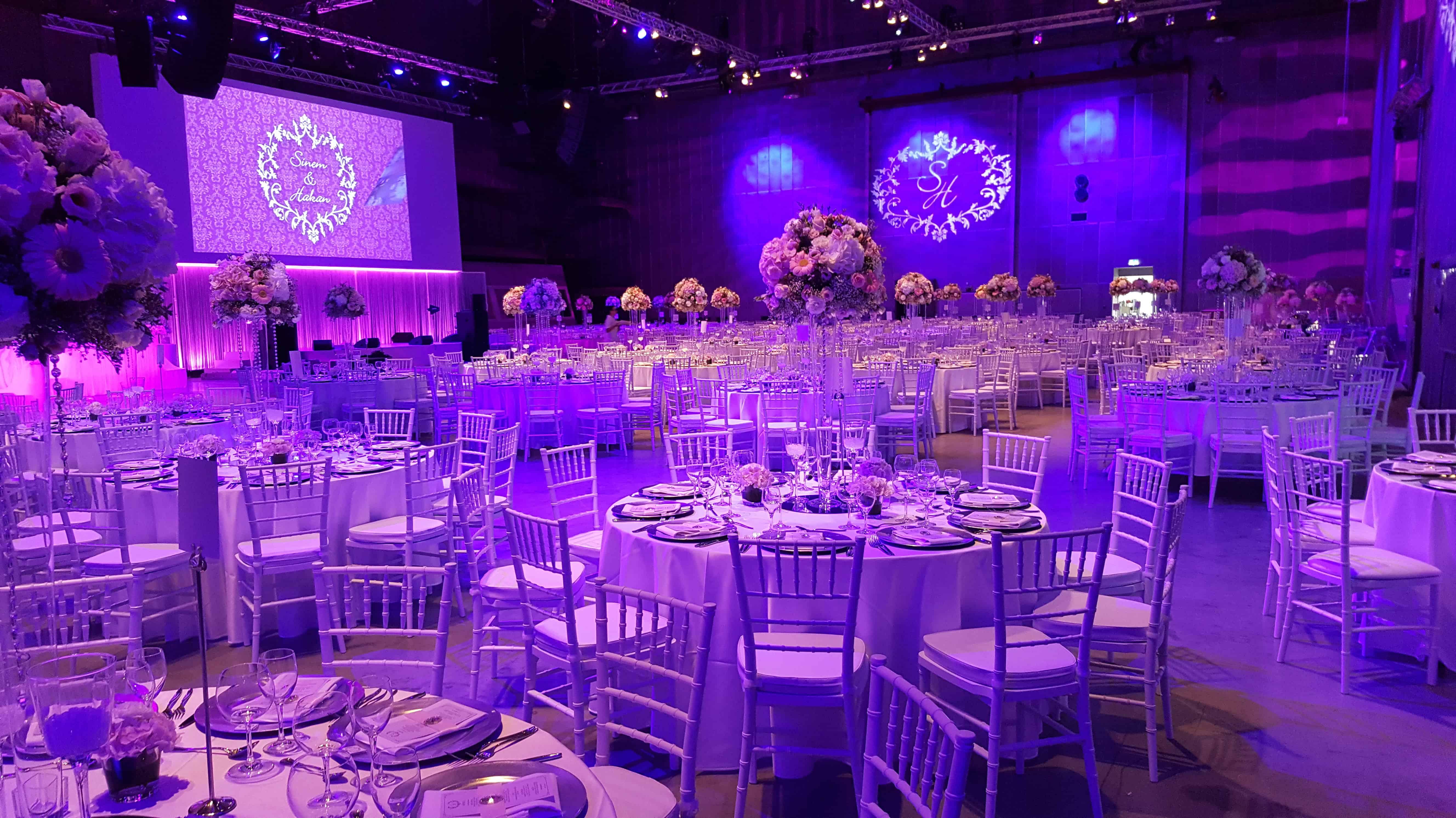 Technische Ausstattung einer Hochzeitsfeier | around GmbH