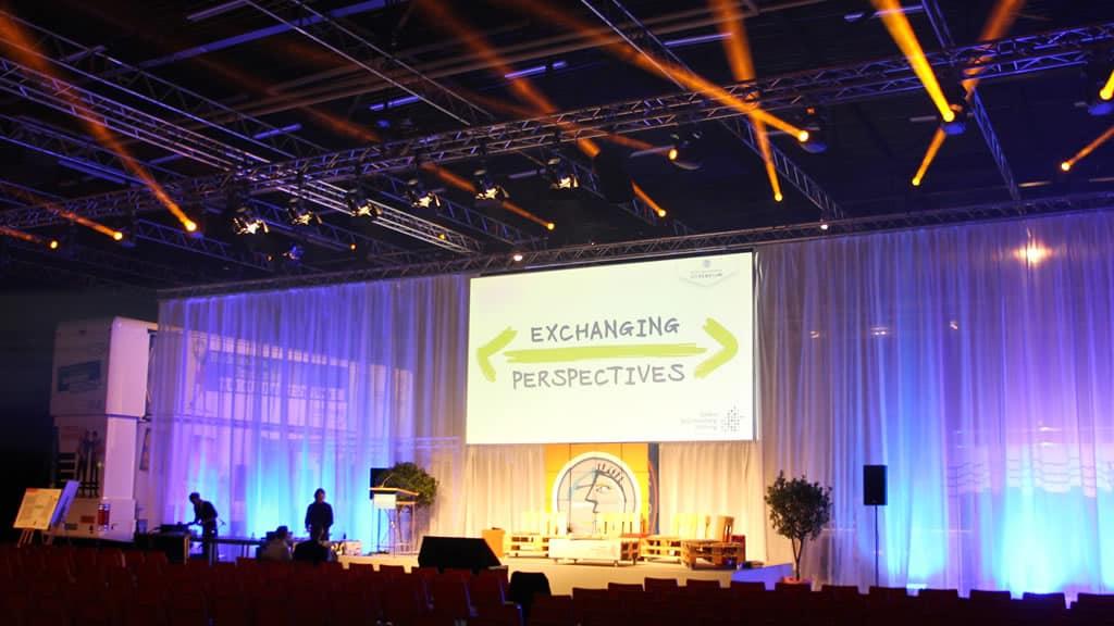 Medientechnik überzeugt g&g Event | around GmbH