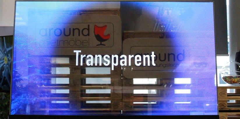 OLED Bildschirm Eye-Toled-5500 von eyevis   around GmbH