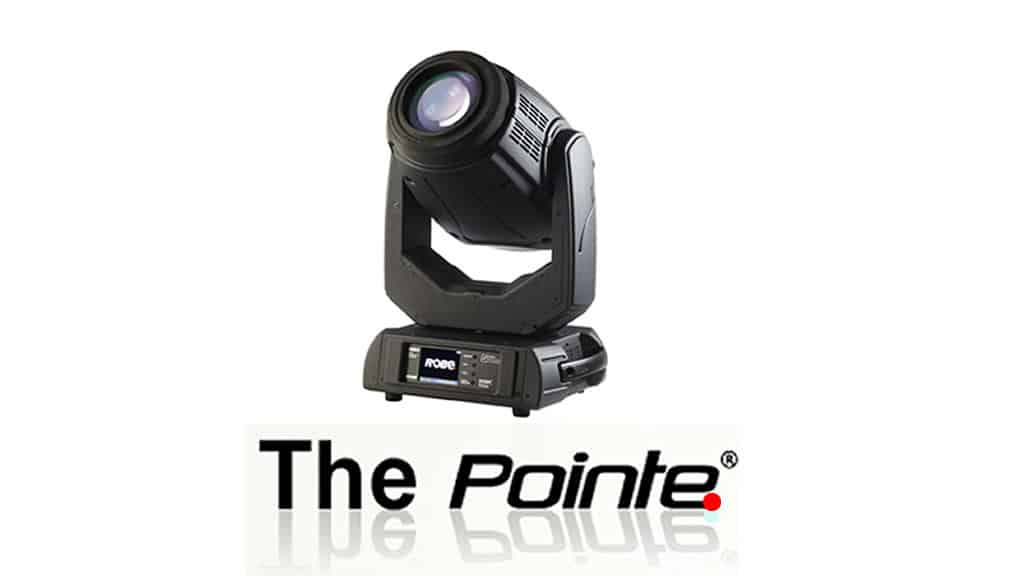 Movinglight Robe Pointe   around GmbH